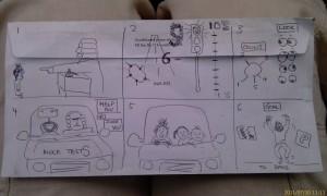 Story board Lisa
