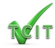 Logo TCIT with tick